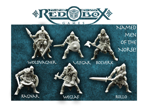 Red Box Games Norse Warriors on Kickstarter