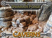 Dwarven Forge's Caverns - Dwarvenite Game Tiles Mini Terrain